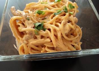 How to Cook Appetizing Chipotle steak pasta
