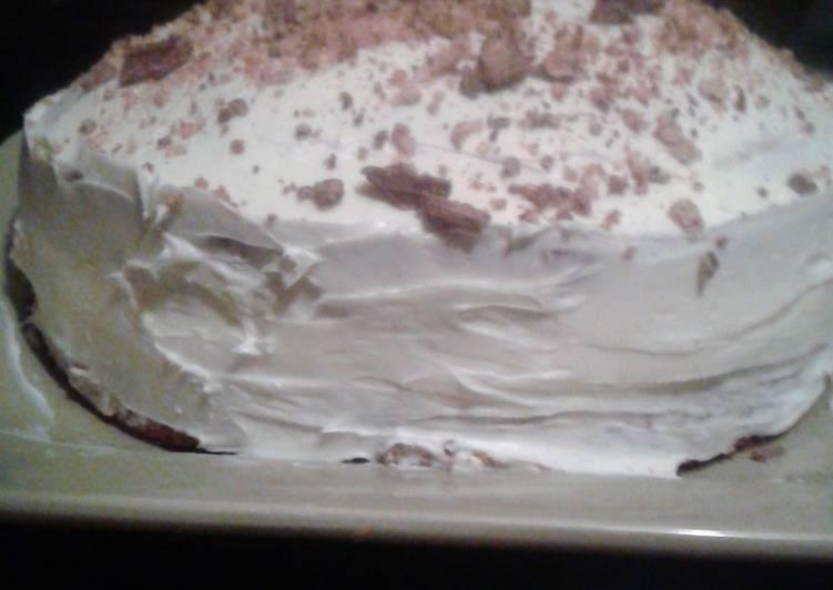 Kit-Kat Lemon Cake