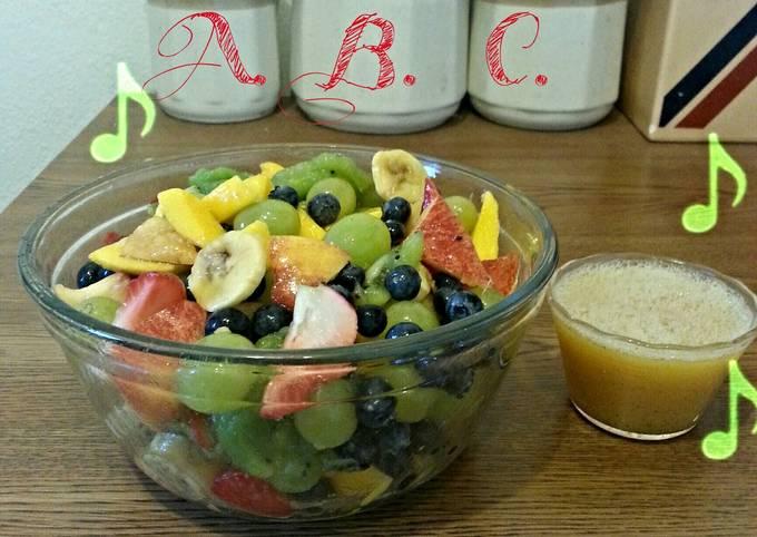 Simple Way to Prepare Speedy 🎶Gingered Honey Fruit Salad 🎵