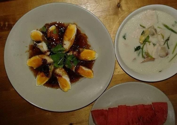 Step-by-Step Guide to Make Ultimate Kai look kaey or deep fry eggs in tamarine sauce