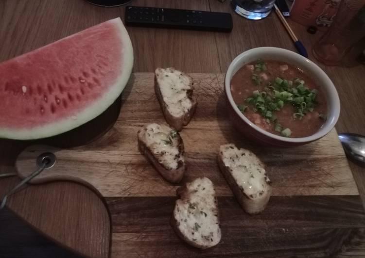 Tomatensuppe mit Ingwer und ohne Sahne