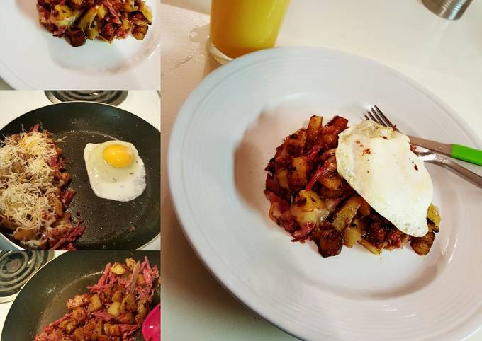 How to Prepare Speedy Corned Beef Hash