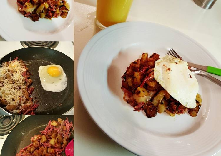 How to Prepare Super Quick Homemade Corned Beef Hash