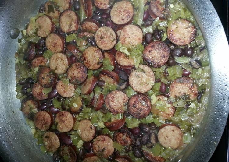 Red Beans & Rice with Kielbasa
