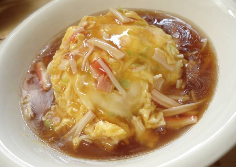 Easiest Way to Prepare Quick Even My Husband Is Convinced! Soupy Tenshin-don