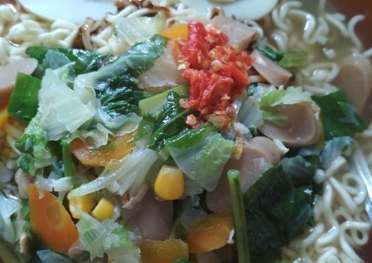 Resep Mie kuah super simple Top