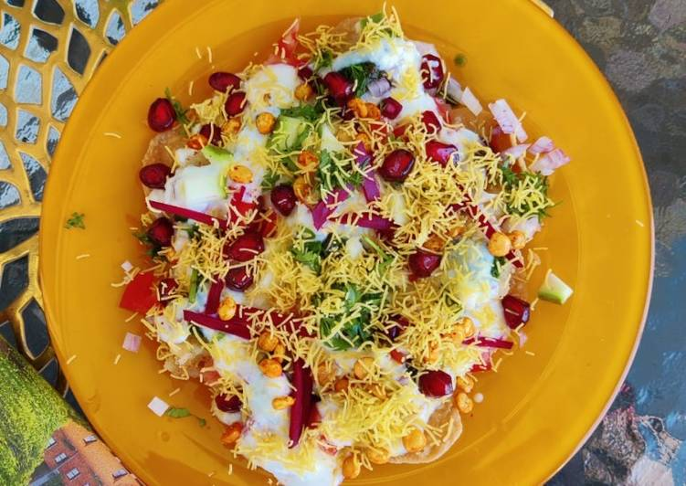 Old Fashioned Dinner Ideas Summer Dahi Papdi Chaat