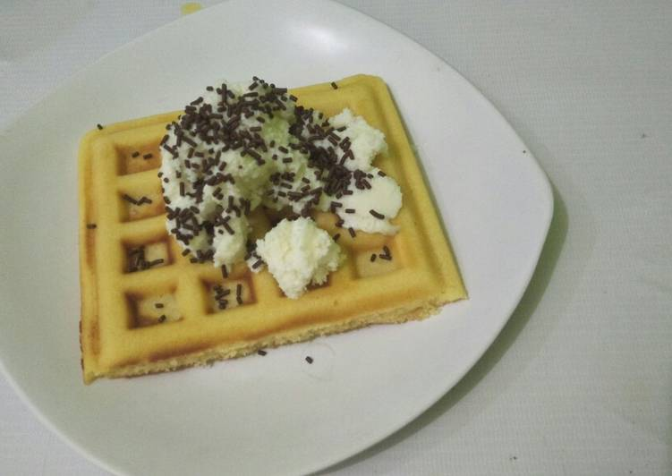 Resep Waffle ala AW dr Rindaags@DapurPincess Paling Joss