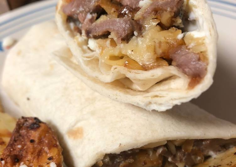 Easiest Way to Prepare Quick Bartow cheesesteak rollups