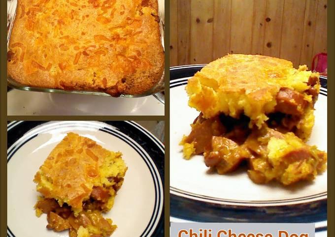 Chili Cheese Dog Casserole ( Taste of Home Kid Cookbook )