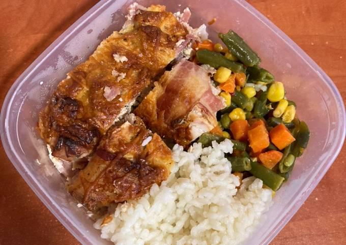 Receptek Baconös jalapenós rakott csirkemell