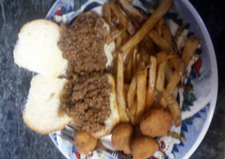 Not so sloppy Joe