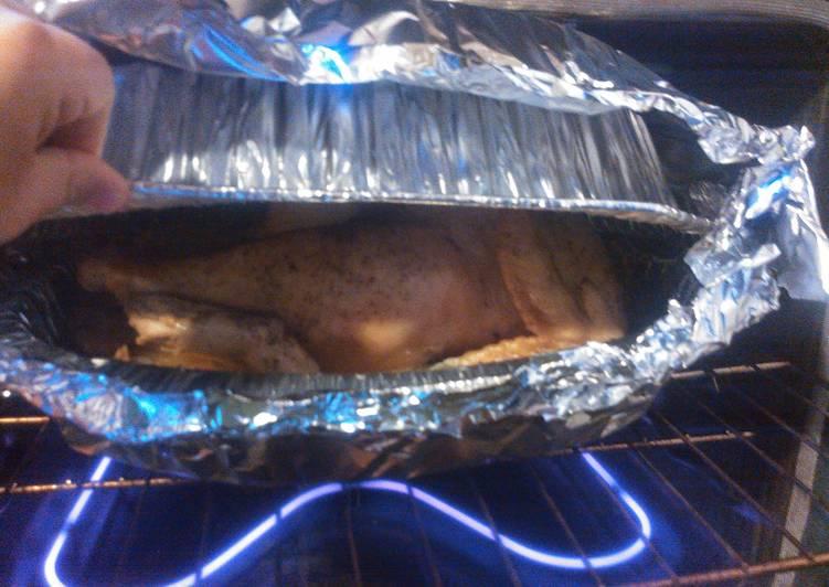 My Drunken Turkey for thanksgiving dinner