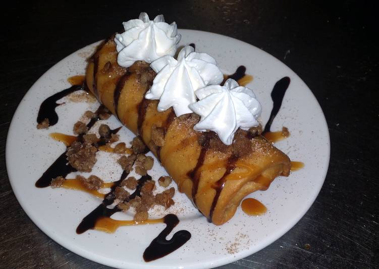 Deep Fried Snickers Bar.