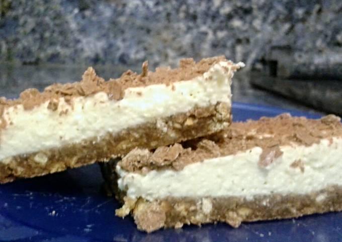 Cream cheese slice