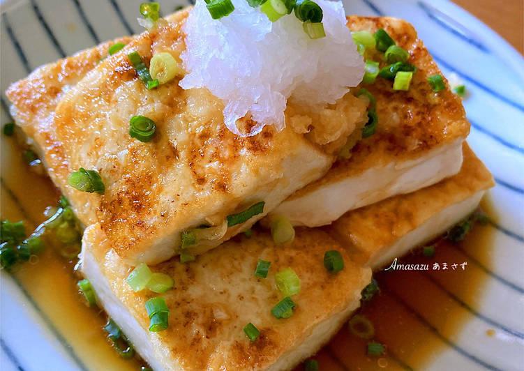 Ricetta Ricetta light 💚 Tofu fritto in padella