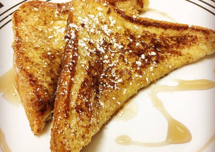 Quick and Easy Way to Make Perfect Classic French Toast