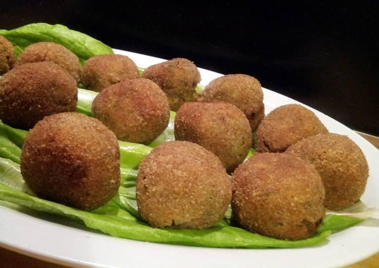 AMIEs Fried ZUCCHINI Balls