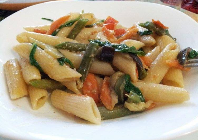 AMIEs PENNE with VEGETABLEs