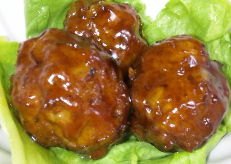 My Family's Standby Meatballs in Teriyaki Sauce