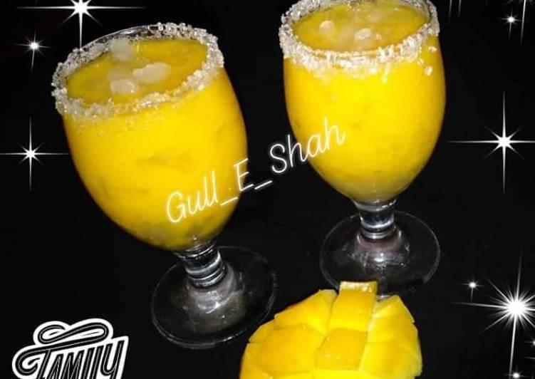 Simple Way to Make Speedy Fresh Mango Juice