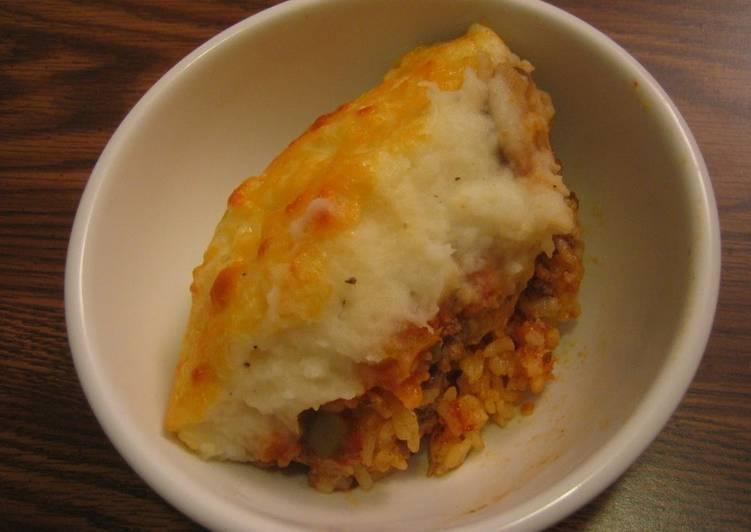 Easiest Way to Prepare Appetizing Rizzy's Doria-Style Shepherd's Pie
