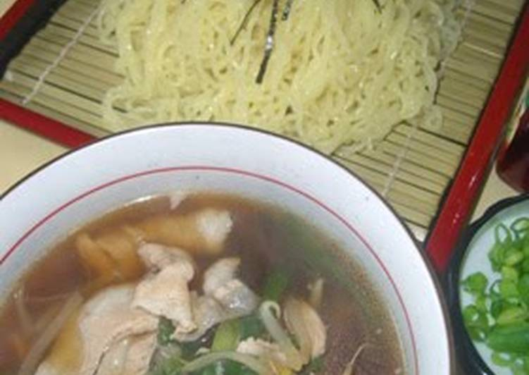 Steps to Make Award-winning Cold Ramen Noodles with Pork Dipping Sauce