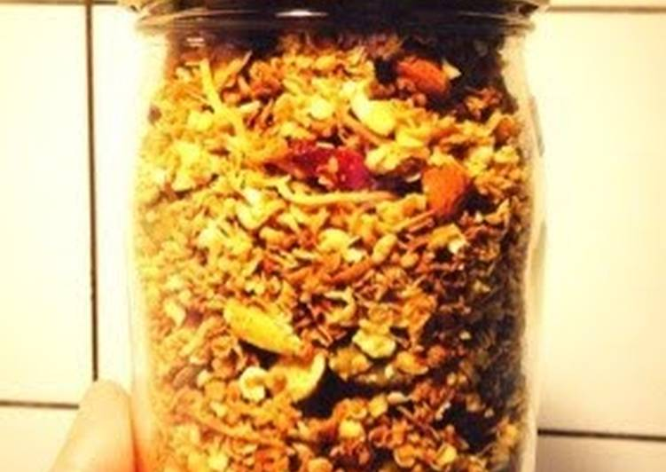 How to Prepare Perfect Healthy Homemade Granola