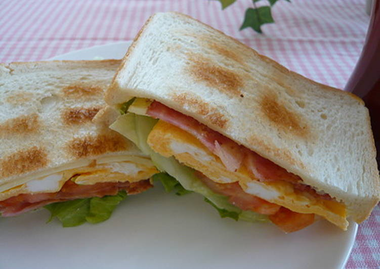 How to Cook Delicious Everyone's Favorite BLT Sandwich