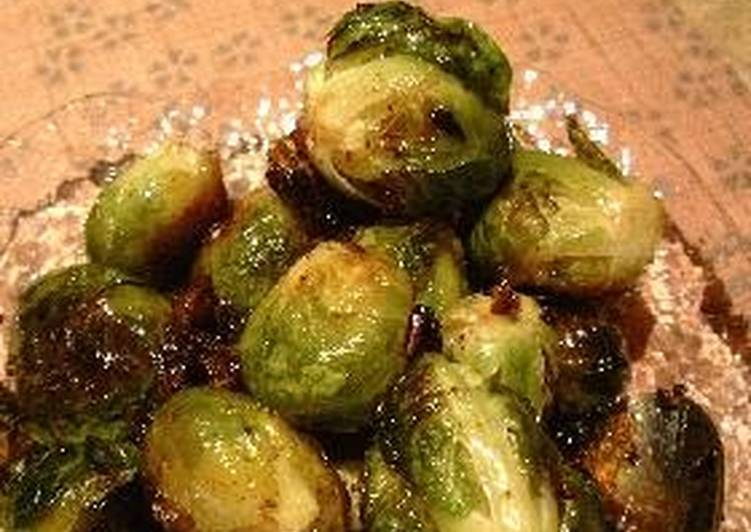 Easiest Way to Make Delicious Garlic Grilled Brussels Sprouts