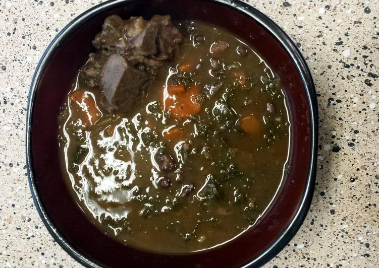 Pork neck bone soup.