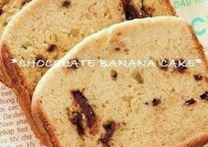 Easiest Way to Make Tasty Banana Chocolate Cake in a Bread Machine
