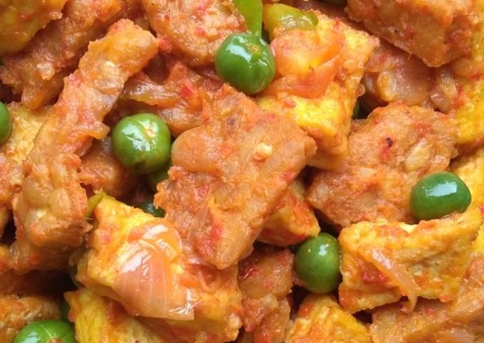 sambal goreng lumai (leunca) tahu tempe - resepenakbgt.com