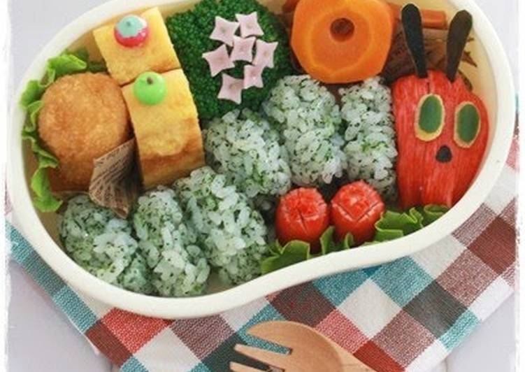 """Try Using Food to Improve Your Mood """"The Very Hungry Caterpillar"""" Charaben"""