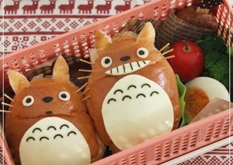 The Best Soft and Chewy Dinner Ideas Ultimate Totoro Rolls for Character Bento