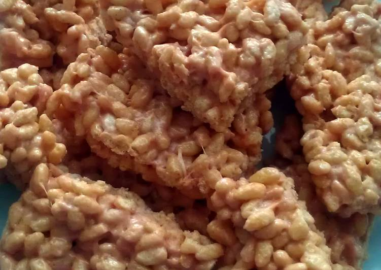 Vickys Pumpkin Spiced Rice Krispie Treats, GF DF EF SF NF
