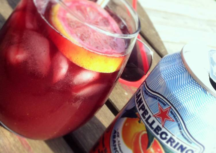 Blood Orange Red Sangria