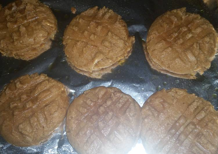 How to Make Yummy Low carb peanut butter cookies - 2