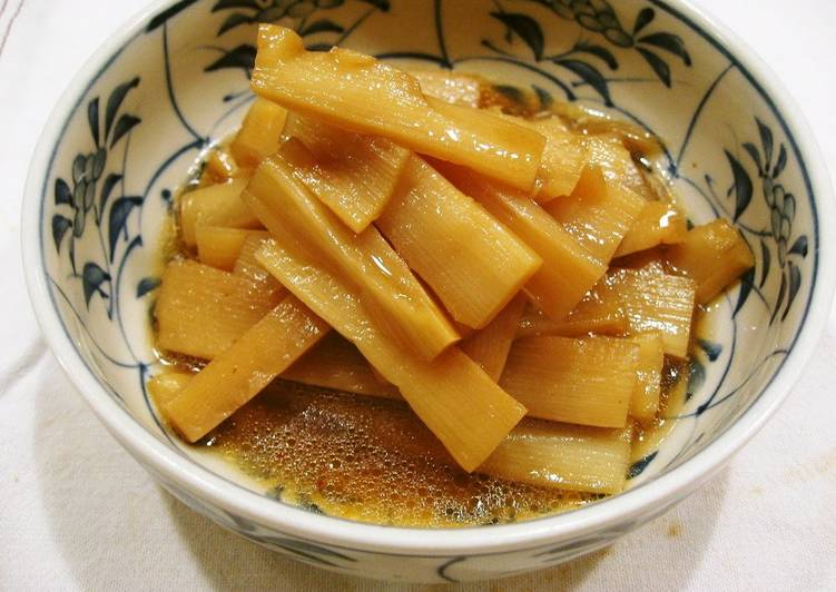 Step-by-Step Guide to Make Quick Spicy Pickled Bamboo Shoots