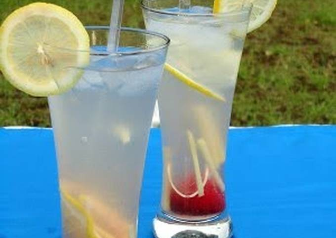 shocking ginger lemonade ice