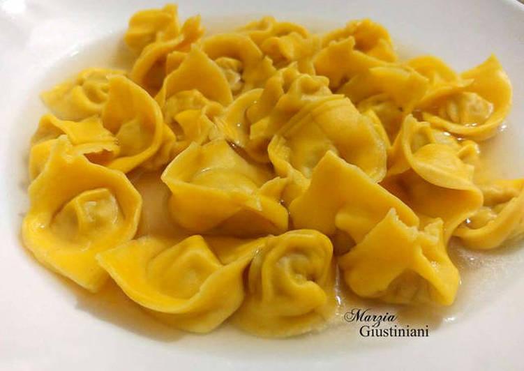 La Recette Pas à Pas 🇮🇹 ️ Emiliani tortellini (recette de famille)
