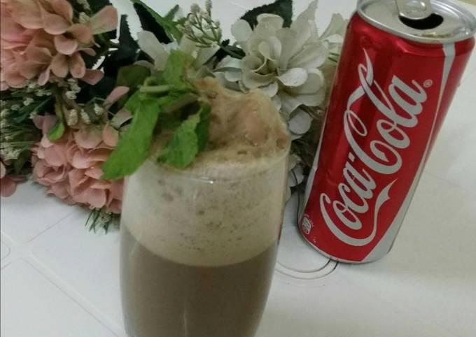 Coke Chocolate Float