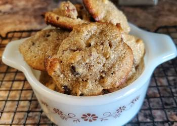 Easiest Way to Prepare Delicious Pecan Maple Chocolate Chip Cookies low Sugar GrainDairy Free