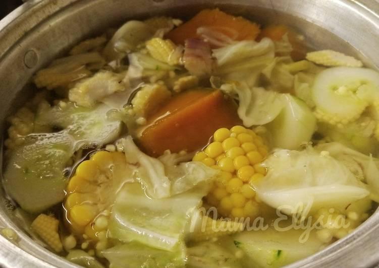 Resep Sayur Bening oleh Dapoer 𝓶𝓪𝓶𝓪 𝐸 𝓁 𝓎 𝓈 𝒾 𝒶 - Cookpad
