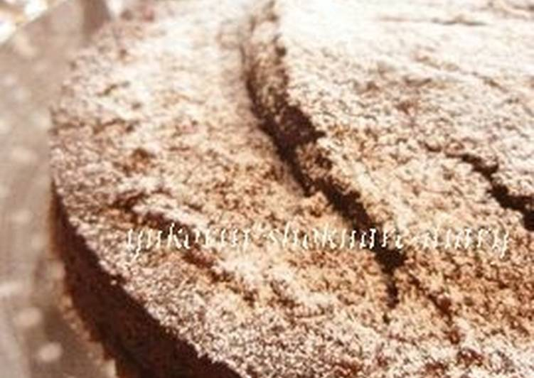 Step-by-Step Guide to Prepare Any-night-of-the-week Rice Flour Cocoa Cake for Valentine's Day