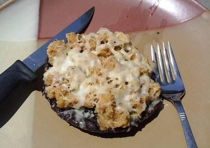 Recipe of Quick Grilled Portobello Mushrooms/ w Crabmeat Stuffing
