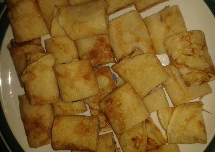 Recipe: Yummy Crepe Bites