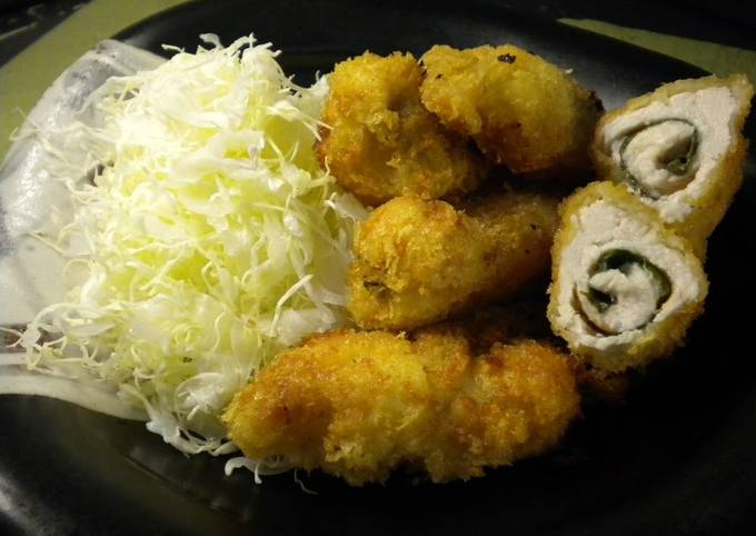 Umeboshi and Shiso Chicken Cutlet - Appetizers to Serve with Drinks