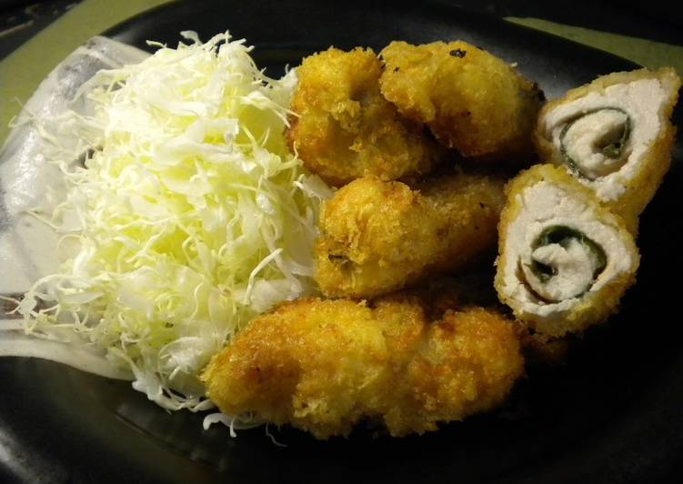 Recipe of Quick Umeboshi and Shiso Chicken Cutlet - Appetizers to Serve with Drinks