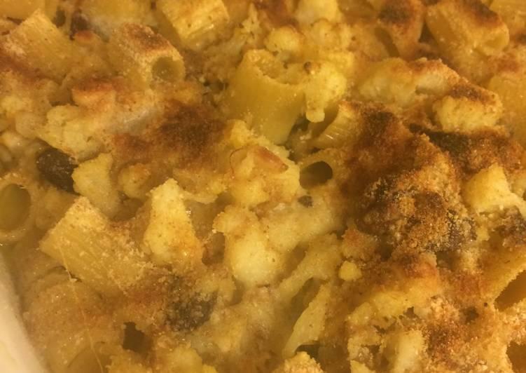 Cauliflower Pasta Casserole